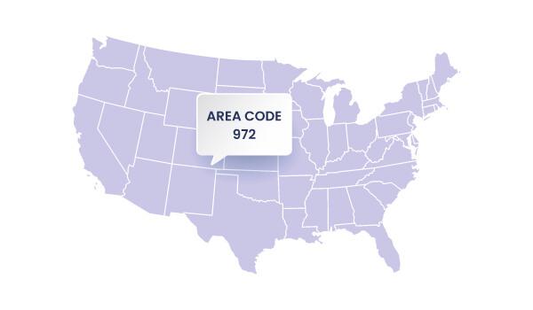 972 Area Code - Callhippo