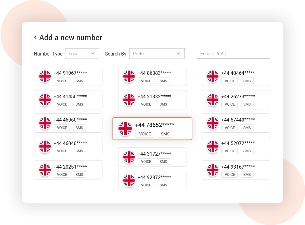 Buy UK Virtual Phone Number