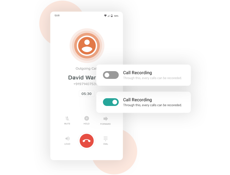 VoIP call recording