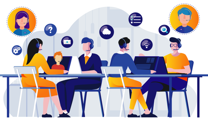 Call Center Software for Remote Teams