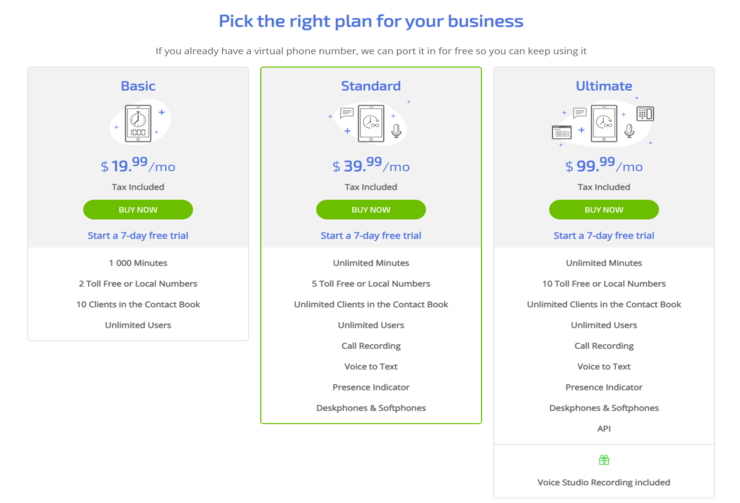 mightycall pricing